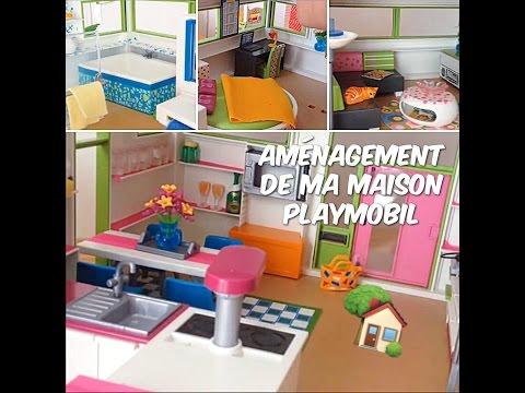 Am Nagement De Ma Maison Moderne Playmobil Youtube