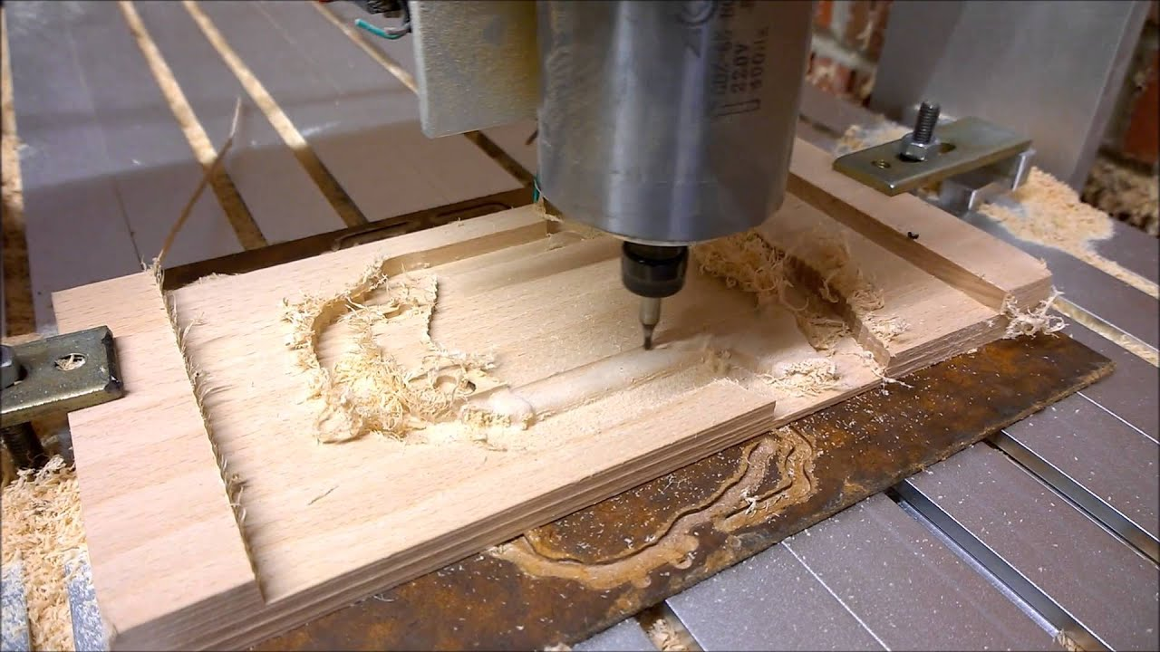 Cnc 6040 Router 3d Wood Carving A New Born Child Gift