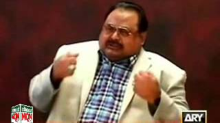 Altaf Hussain condemn taliban threats to Media