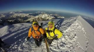 MONT BLANC. Goûter route. Alpinismo. Bergsteigen. JL Loriupa