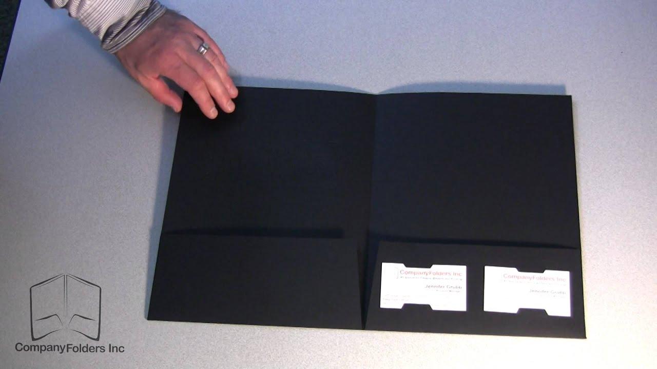 presentation folders designs