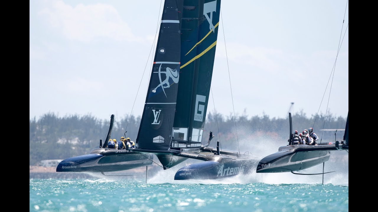 DAY 1 RACE HIGHLIGHTS - LOUIS VUITTON AMERICA'S CUP CHALLENGER PLAYOFFS SEMI-FINALS