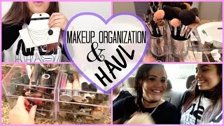 Claudia'sLife: Makeup Organization & TopShop Haul! Thumbnail