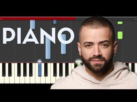 Nacho Happy Los Mendoza Piano Midi Tutorial Sheet App Cover Karaoke
