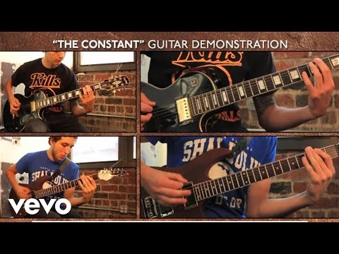 """Counterparts - """"The Constant"""" Guitar Demonstration"""