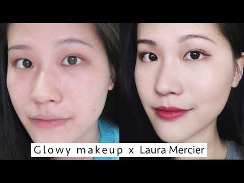 (合作)Laura mercier給了我絲緞感的光澤部落客肌!|Glowy makeup //Tiffany