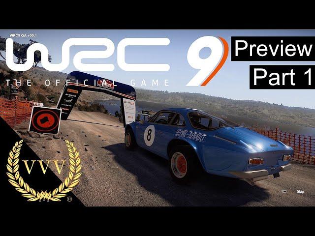 WRC 9 - Preview Part 1