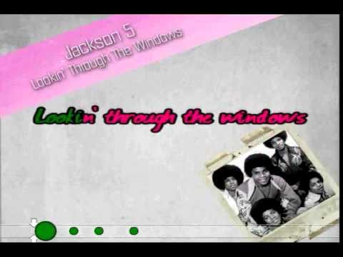 Lookin' Through The Windows (Jackson 5) Karaoke