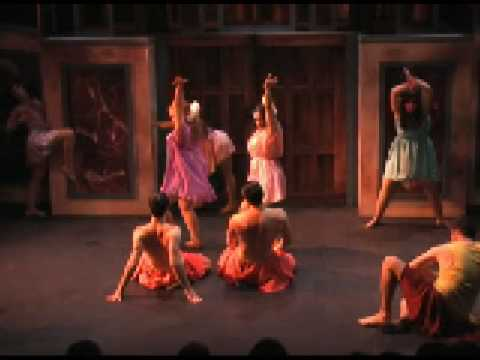 an analysis of the production of lysistrata in the talbot theatre Short clips from the theatre uaf production of lysistrata directed by thomas riccio in 2002 costumes & video by tara maginnis.