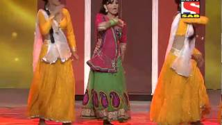 Subhangi Poorey - Performance - Sab Ke Satrangi Parivaar Awards - 31st January 2014