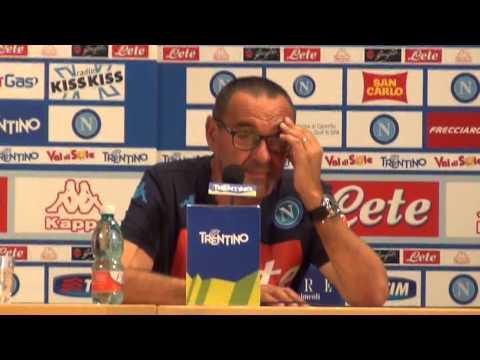 CN24 - Conferenza stampa integrale di Maurizio Sarri