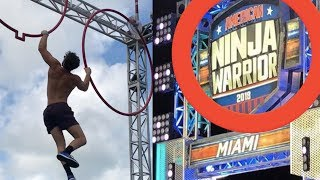 NINJA WARRIOR VLOG! (Miami Qualifier - Walk On Line - BTS With The BraziBros)