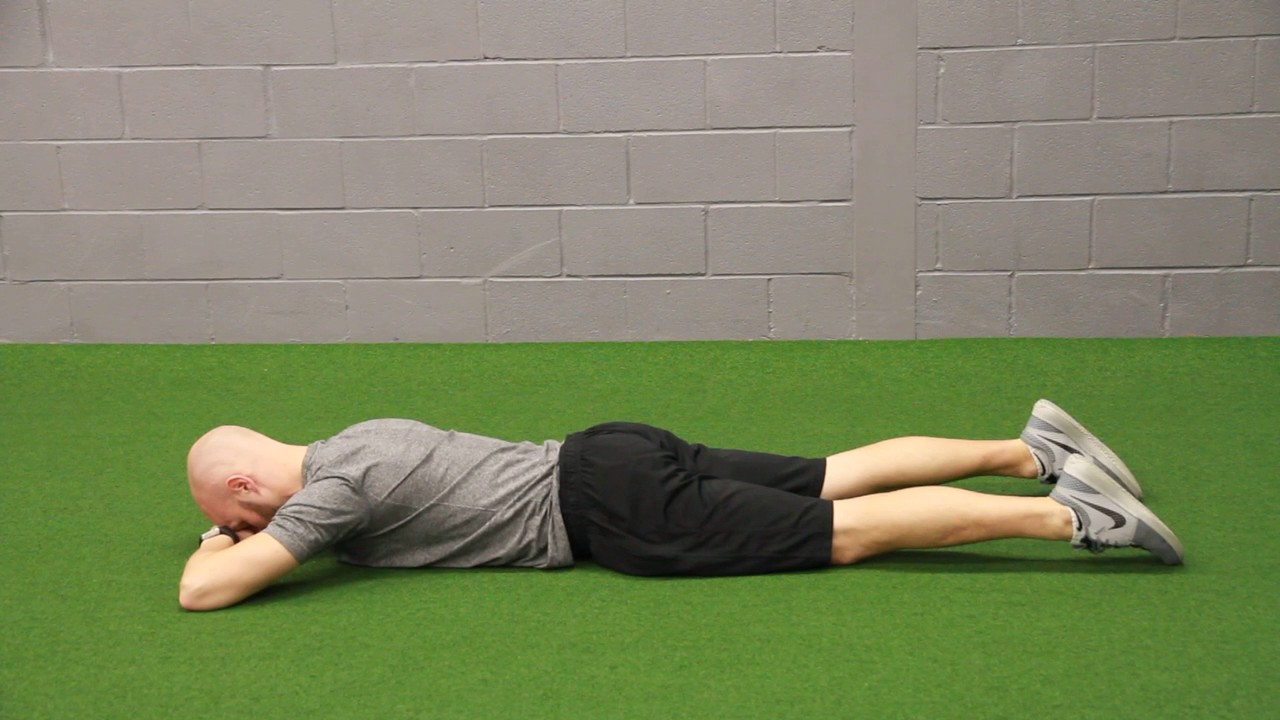 Image result for Prone Breathing exercise