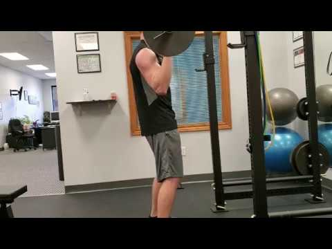 Overhead Lifting Compensation | Chesterfield Chiropractor