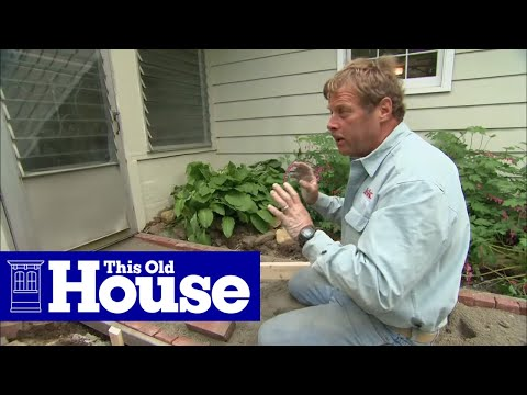 How to Repair a Brick Walkway - This Old House - YouTube