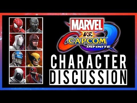 Marvel Vs Capcom: INFINITE - CHARACTERS!