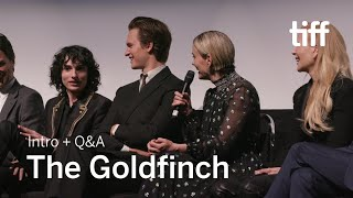 THE GOLDFINCH Cast and Crew Q&A | TIFF 2019