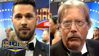 Tom Phillips and Miz's Dad share interviewing duties on the WWE Hal...