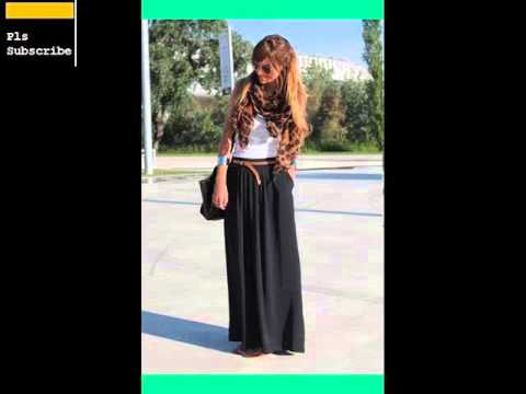 848ec21120f5 Womens Black Maxi Skirt | Black Maxi Skirt Romance - YouTube