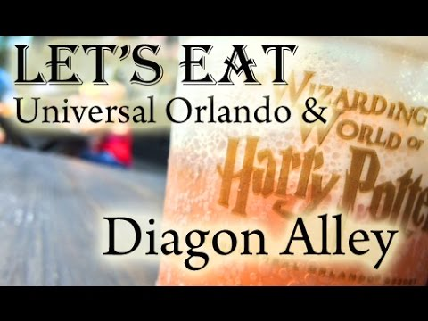 Food Tour-Universal Orlando with a Look at Diagon Alley(ユニバーサルスタジオオーランドの食べ歩き)