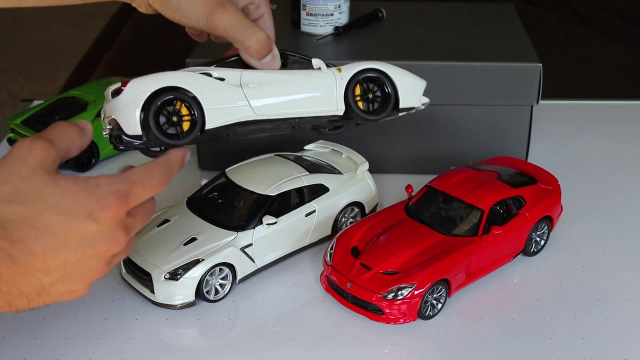 painting black wheels on 1 18 scale model cars youtube. Black Bedroom Furniture Sets. Home Design Ideas