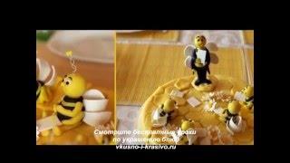Как украсить торт  медовик (медовый торт):  классические и  оригиальные рецепты  украшения.