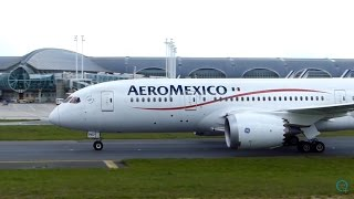 *SUPER CLOSE-UP* B787 Aeromexico Arriving in CDG / Lucky Catch !