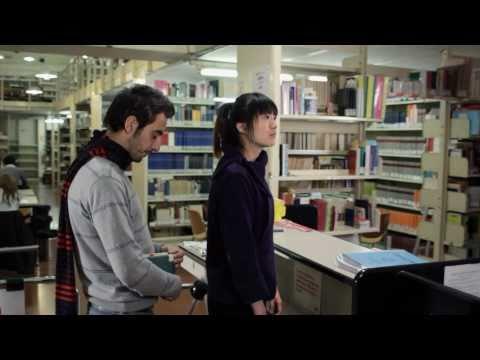 Ep. 3 . In biblioteca . Facoltà di Lingue e Letterature Straniere - Bologna