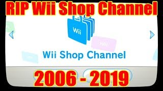 Rip Nintendo Wii Shop Channel 2006 2019 | One Last Look At The Wii Shop Channel