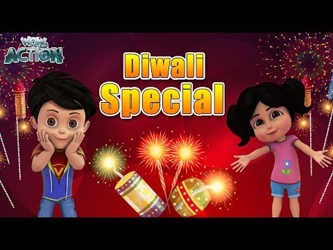 Diwali Special | BEST SCENES of VIR THE ROBOT BOY | Animated