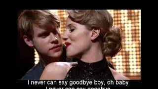 Never Can Say Goodbye - Dianna Agron (Glee Cast) [Letra / Lyrics]