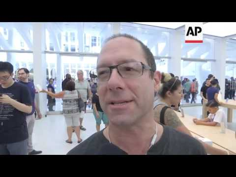 Mall Opens At NYC's World Trade Center