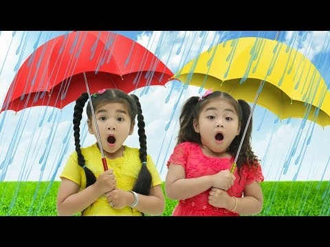 Rain Rain Go Away Song | Suri & Annie Sing-Along Nursery Rhymes & Kid Songs