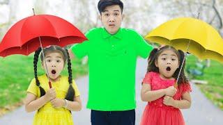 Download Lagu Rain Rain Go Away Song | Suri & Annie Sing-Along Nursery Rhymes & Kid Songs mp3