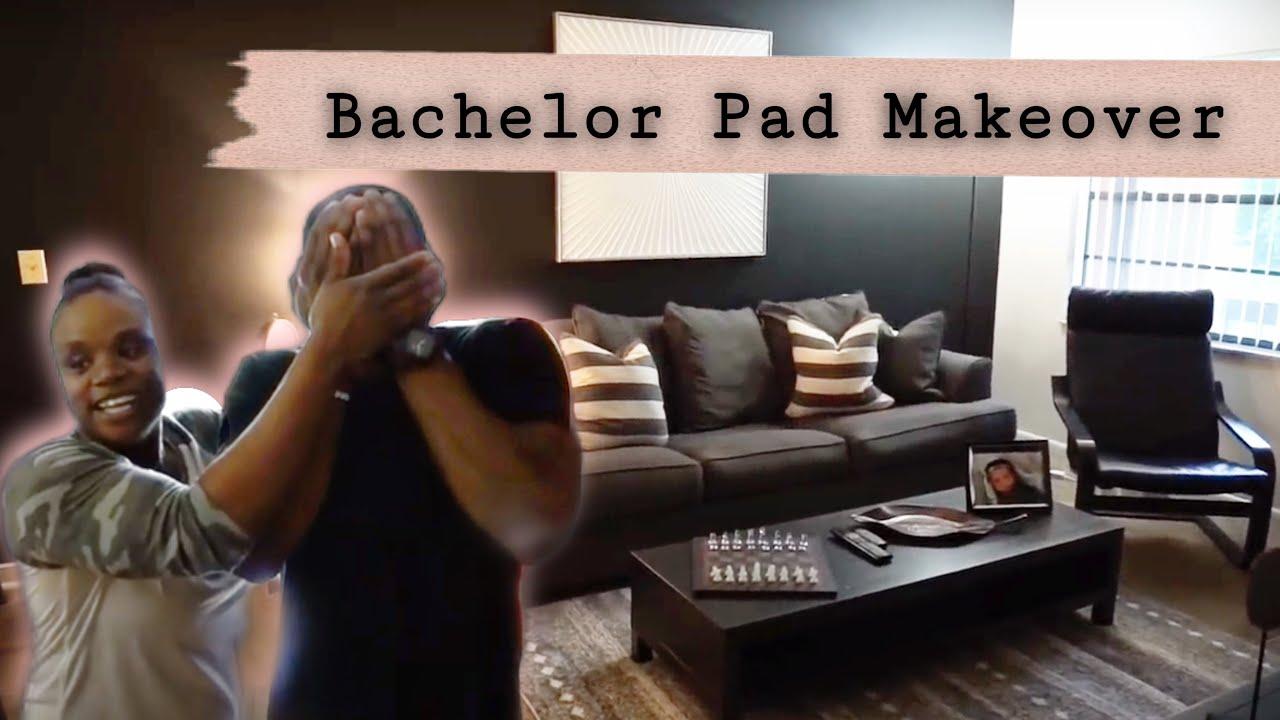 Bachelor Pad Living Room Makeover 2018| NeesieDoesiT