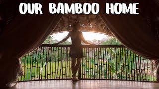 $60 to stay in a Bamboo Villa - UBUD Travel Vlog