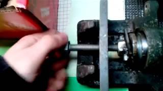Přípravek na zatlačování pístků pro zadní brzdový třmen VW,Škoda,Audi,Seat...vyrobený doma