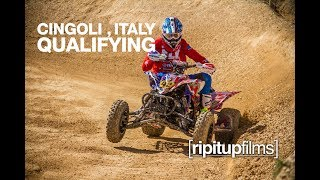 Qualifying Day with Team USA at Quadcross of Nations - 2017