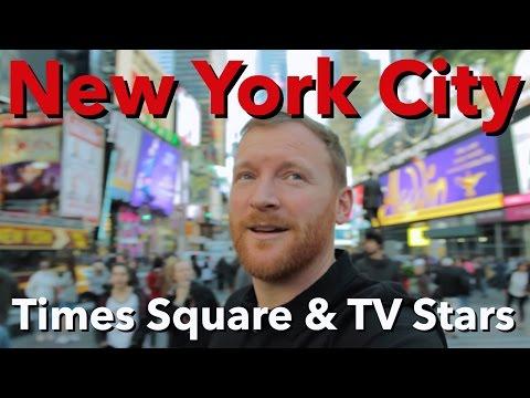 New York City - Times Square & TV Stars