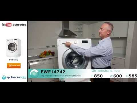 EWF14742 Electrolux 7kg Front Load Washing Machine reviewed by product expert - Appliances Online