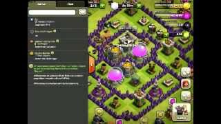 CLASH OF CLANS (HD) - Let's Play -Erfolg beim Angriff,Aufstellung #6