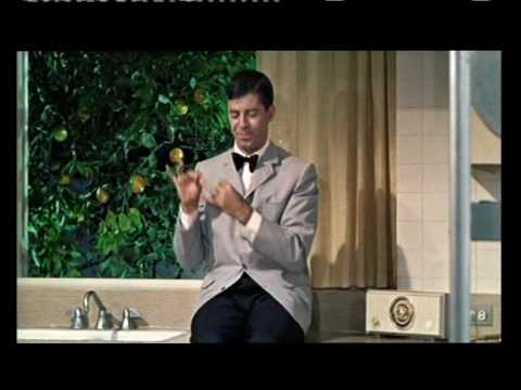 Jerry Lewis Does the Dishes