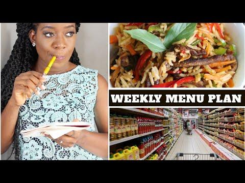 NIGERIAN WEEKLY MEAL PLANNING   NIGERIAN MENU   Menu Planning Tips