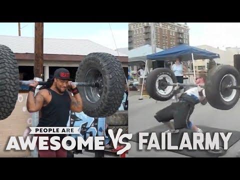 Tire Workouts & Plyometrics | People Are Awesome vs. FailArmy