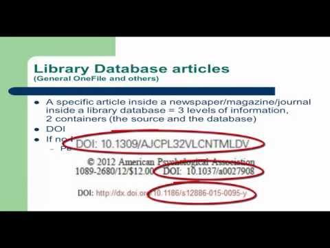 MLA Citation: How to Cite Articles