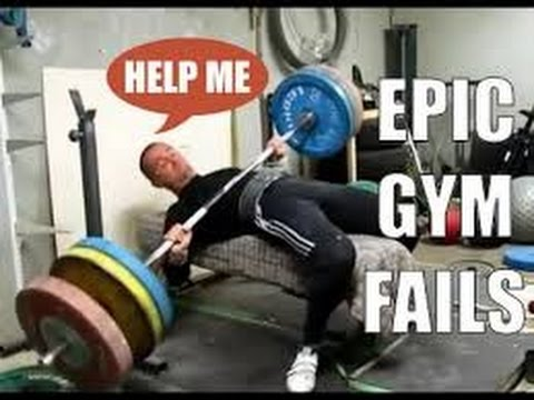 Epic Gym Fails And Accidents Compilation  Funny And Painfull