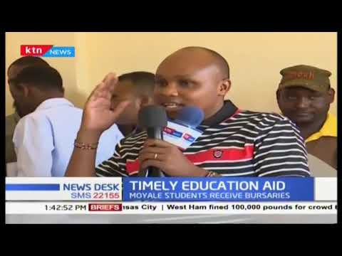 Timely Education Aid for students in Moyale Constituency