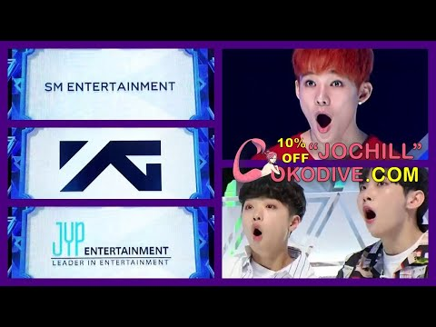 [ENG] PRODUCE X 101 Reaction to SM YG JYP Entrance