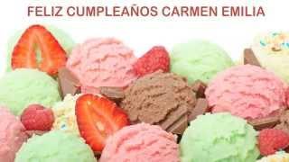 CarmenEmilia Ice Cream & Helados y Nieves - Happy Birthday