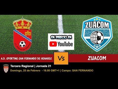 A D Sporting San Fernando De Henares Vs Zuacom Directo Live